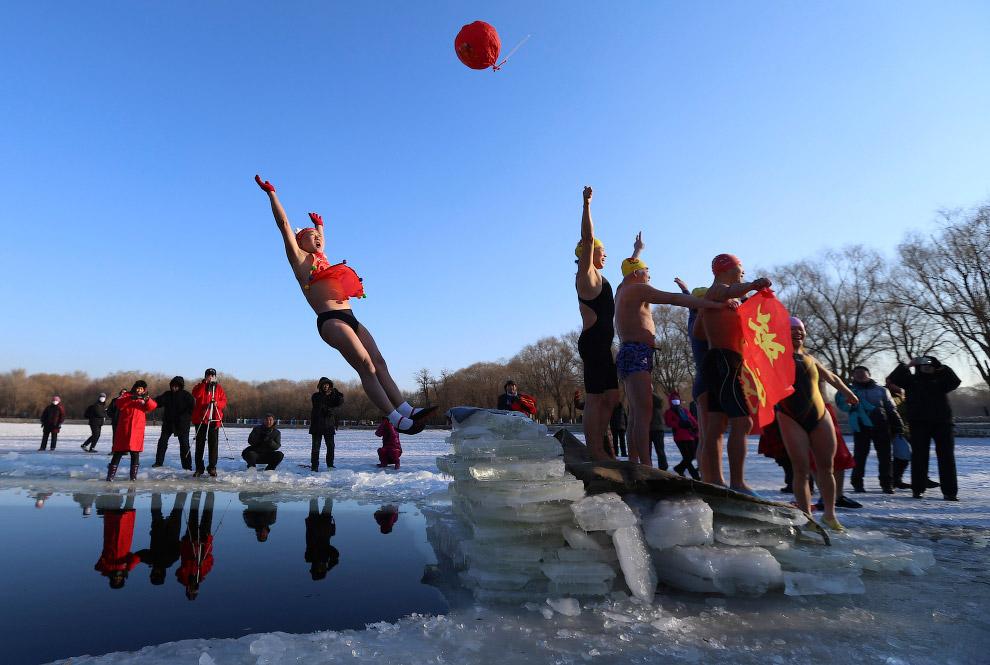 В Россию зима приходит с северо-востока. В Республике Саха на Чукотке и на севере Красноярского