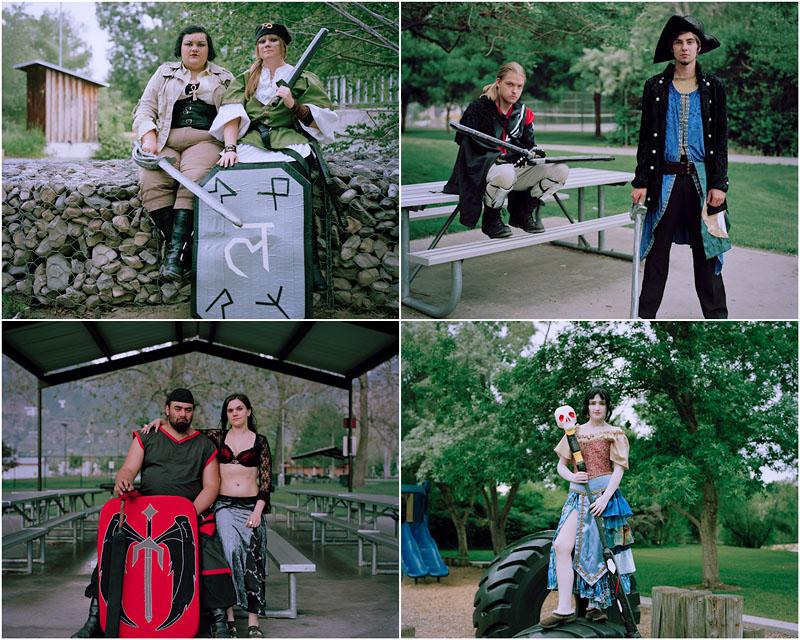 Американские ролевики – Современное средневековье (19 фото)