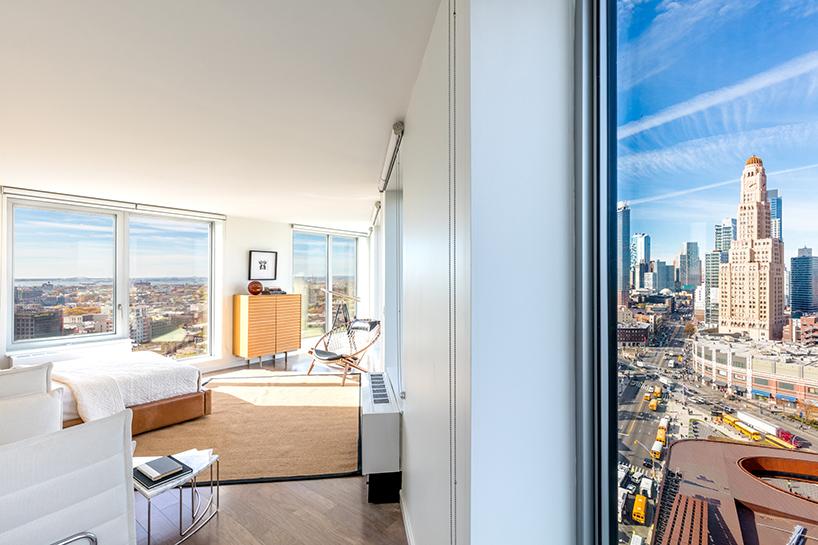 Самое высокое модульное здание в Нью-Йорке