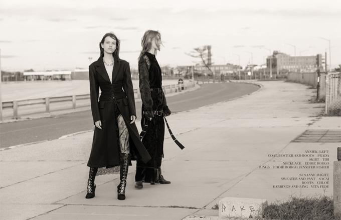 Сюзанна Книппер и Анниек Абма в Dansk Magazine