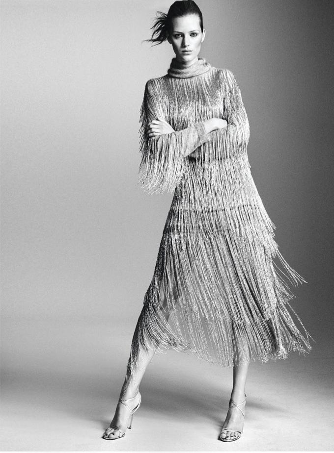 Эстер Хиш в Harper's Bazaar Germany