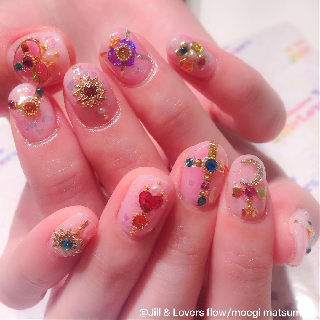 Безумный маникюр c Tokyo Nail Expo 2015
