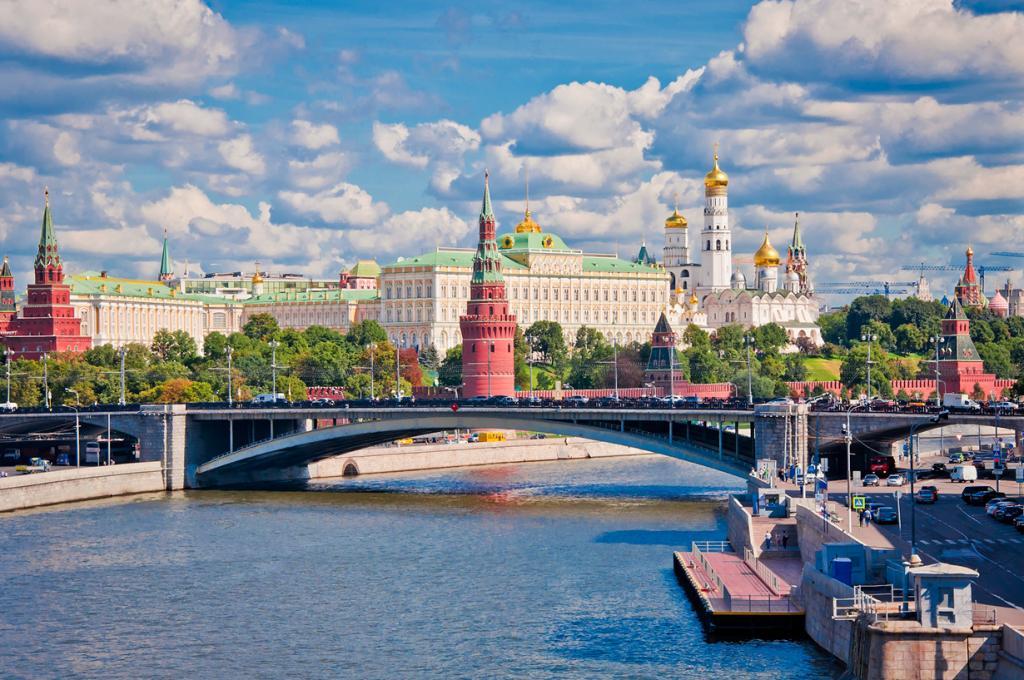 Россия. Москва. Московский Кремль является официальной резиденцией президента Российской Федерац