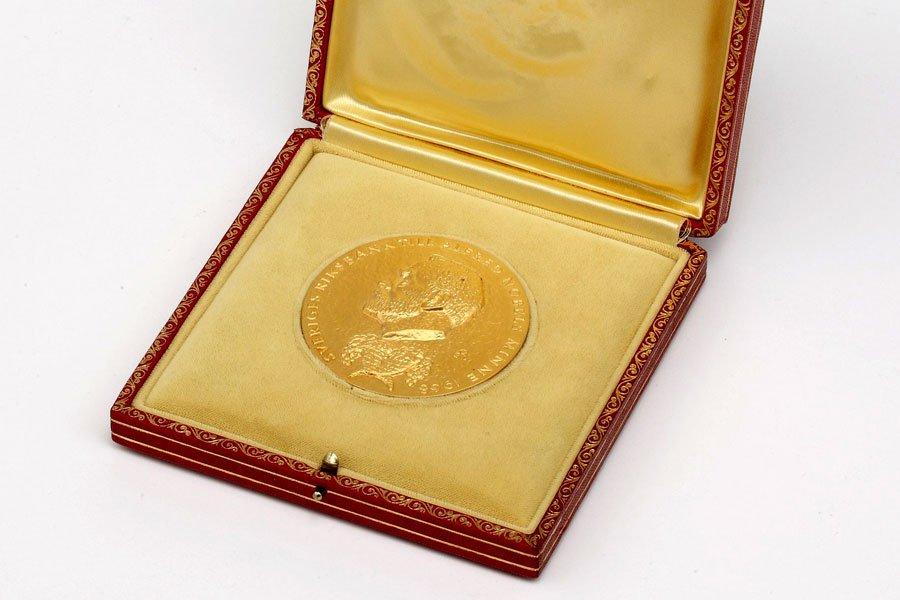 Медаль нобелевского лауреата Джона Нэша будет выставлена нааукцион