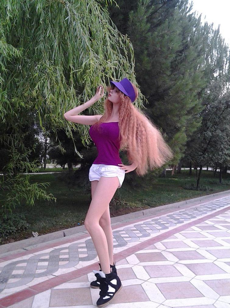 Живая Барби из России