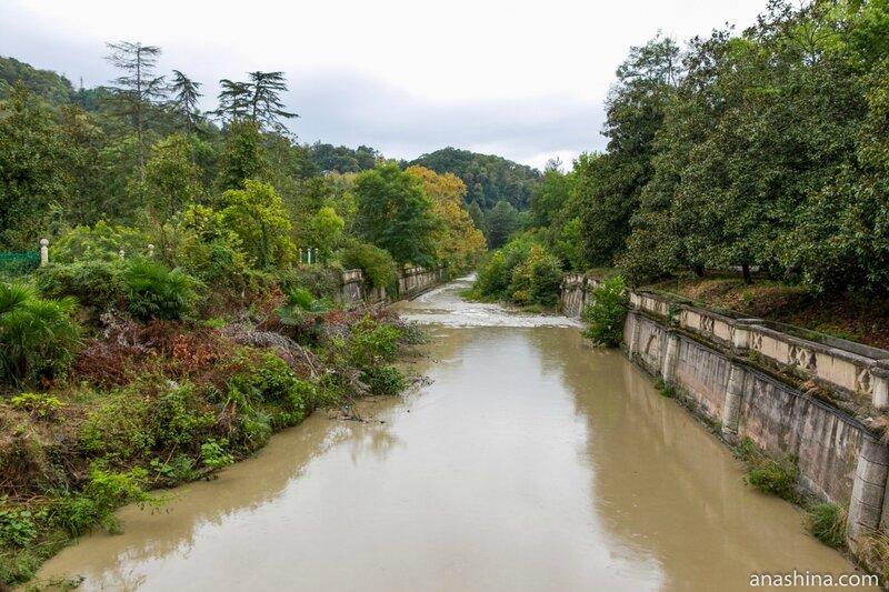 Река Мацеста, Сочи
