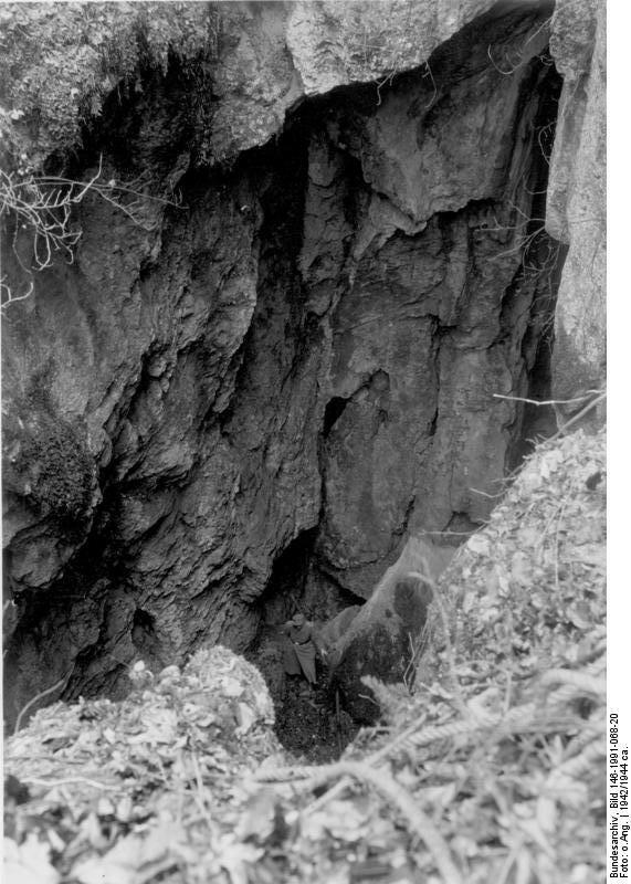 Pottenstein, Gelдnde der SS-Karstschulungsstдtte
