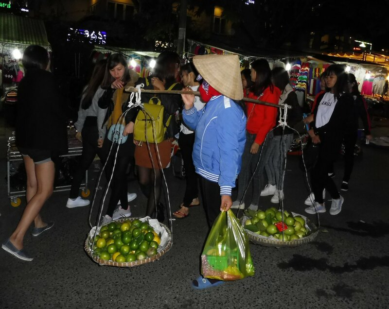 Торговец фруктами