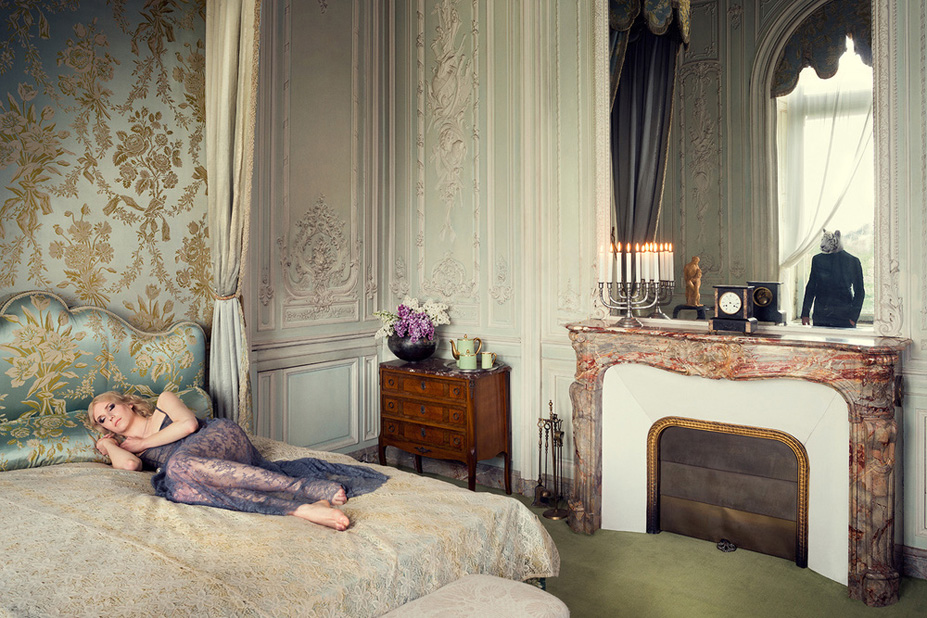 Le lit - Une vie de chateau / A golden youth / photo by Malo