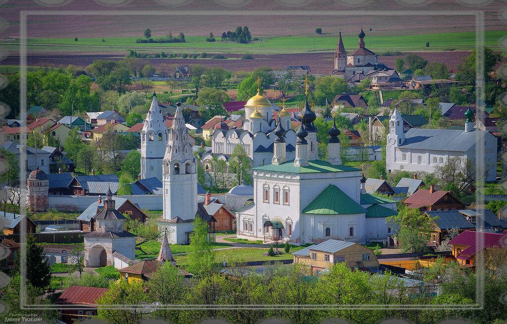 Суздаль. Свято-Покровский женский монастырь.