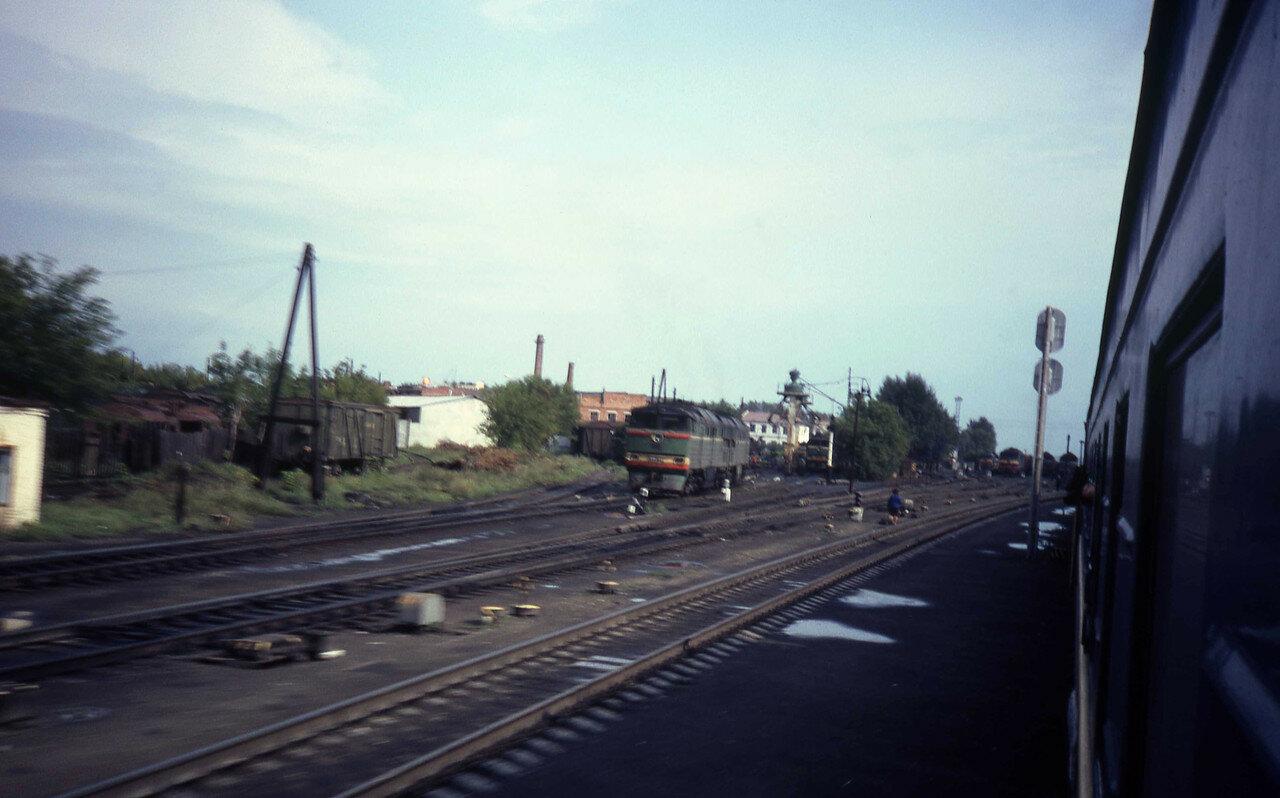 На Транссибирской железной дороге между Войновкой и Называевском