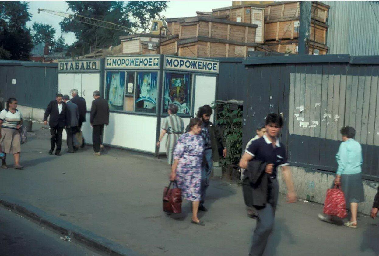 Москва. Русаковская улица