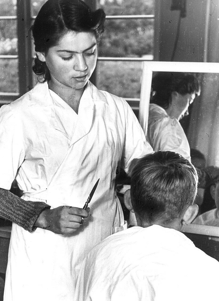 Рендсбург. Обучение парикмахерскому искусству