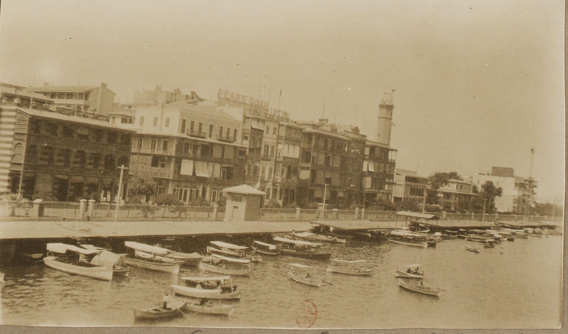 17. Порт Саид. В гавани