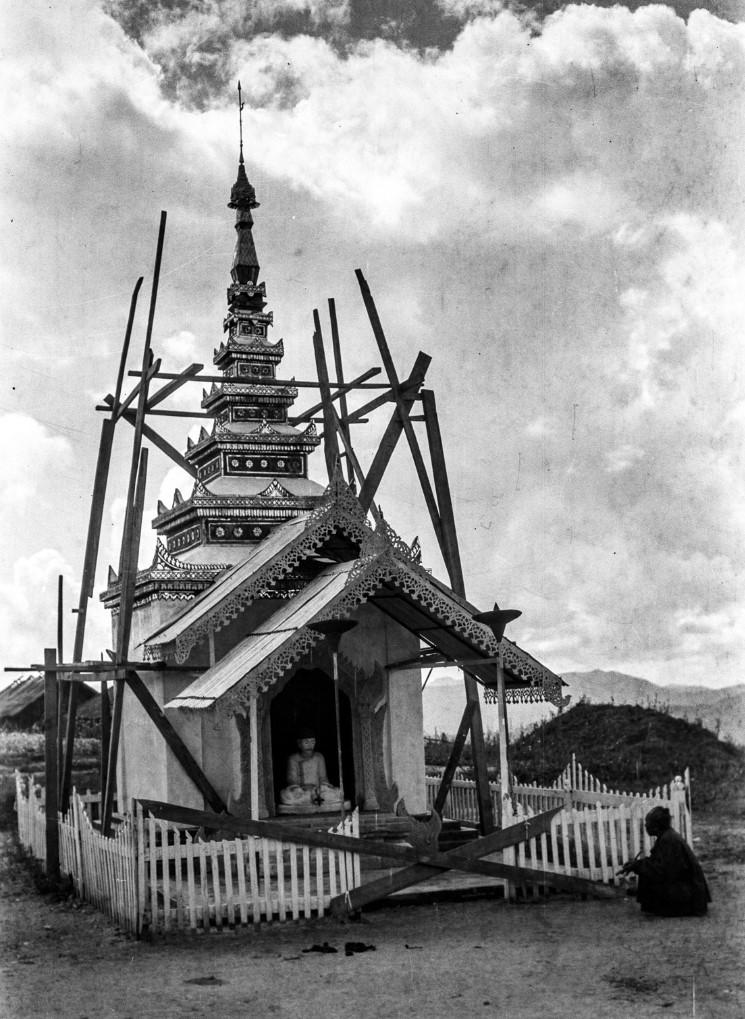 923. Гробница древнего «саопа» (местного правителя)