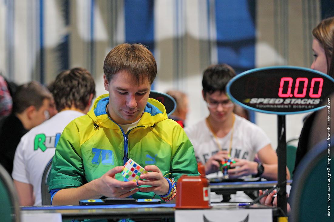 Максим Чечнев кубик Рубика соревнования