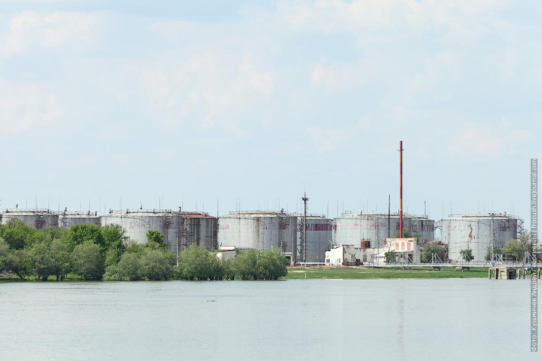 нефтебаза круиз в Казахстан на теплоходе