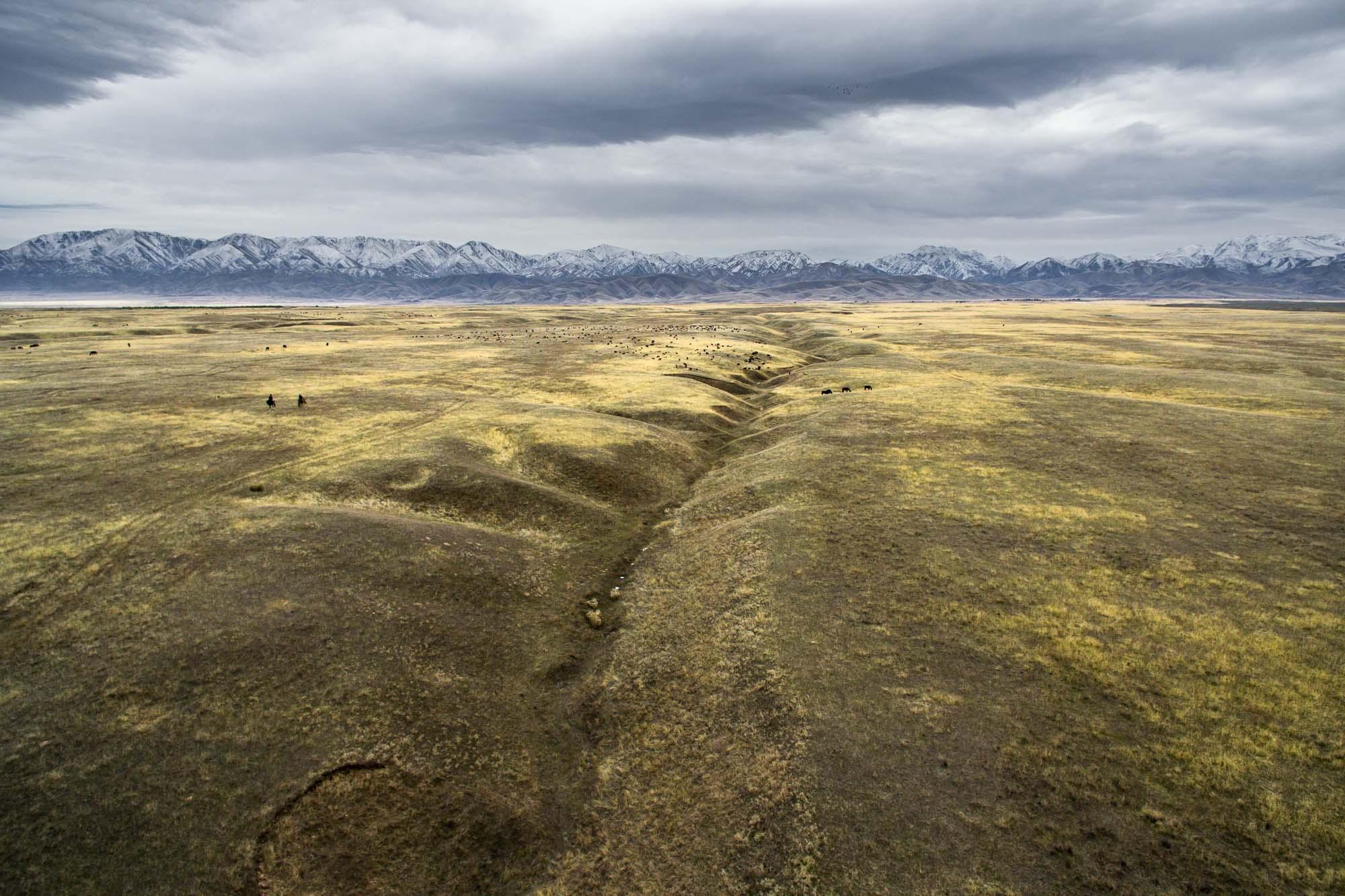 Казахстан с квадрокоптера