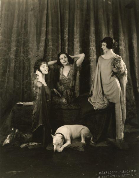 The Talmadge sisters by Charlotte Fairchild, c. 1918.jpg