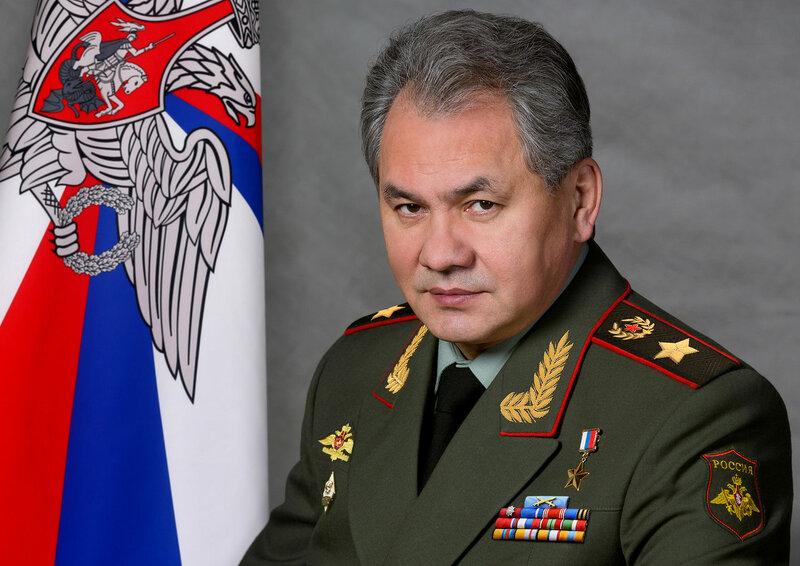 Министр обороны Российской Федерации генерал армии С. К. Шойгу