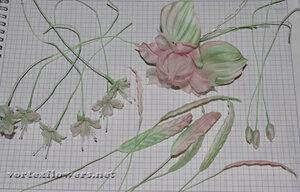 Мастер-класс. Мелкие цветы из ткани от Vortex  0_fbf14_d91f3593_M