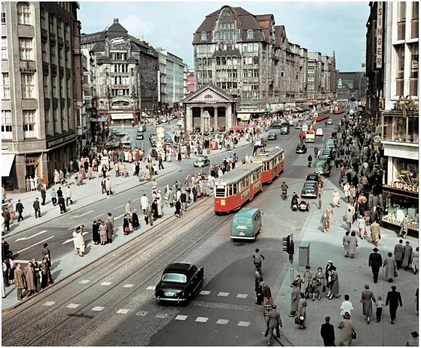 Hamburg, MцnckebergstraЯe