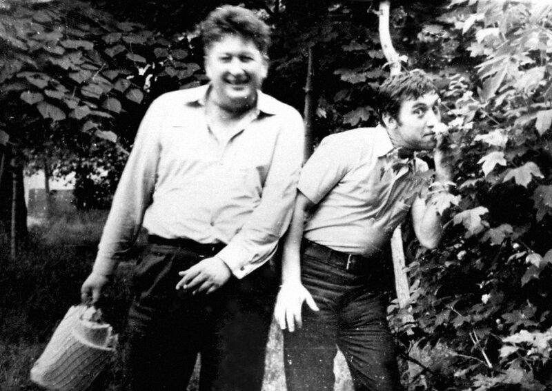 Владимир Высоцкий и Валентин Савич. Фото 1970 года.jpg
