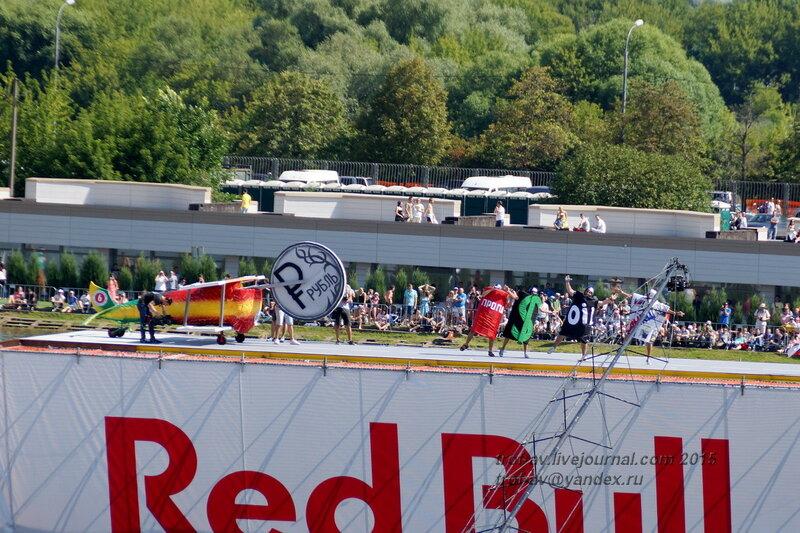 Команда Падение рубля, Фестиваль Red Bull Flugtag 2015, Москва