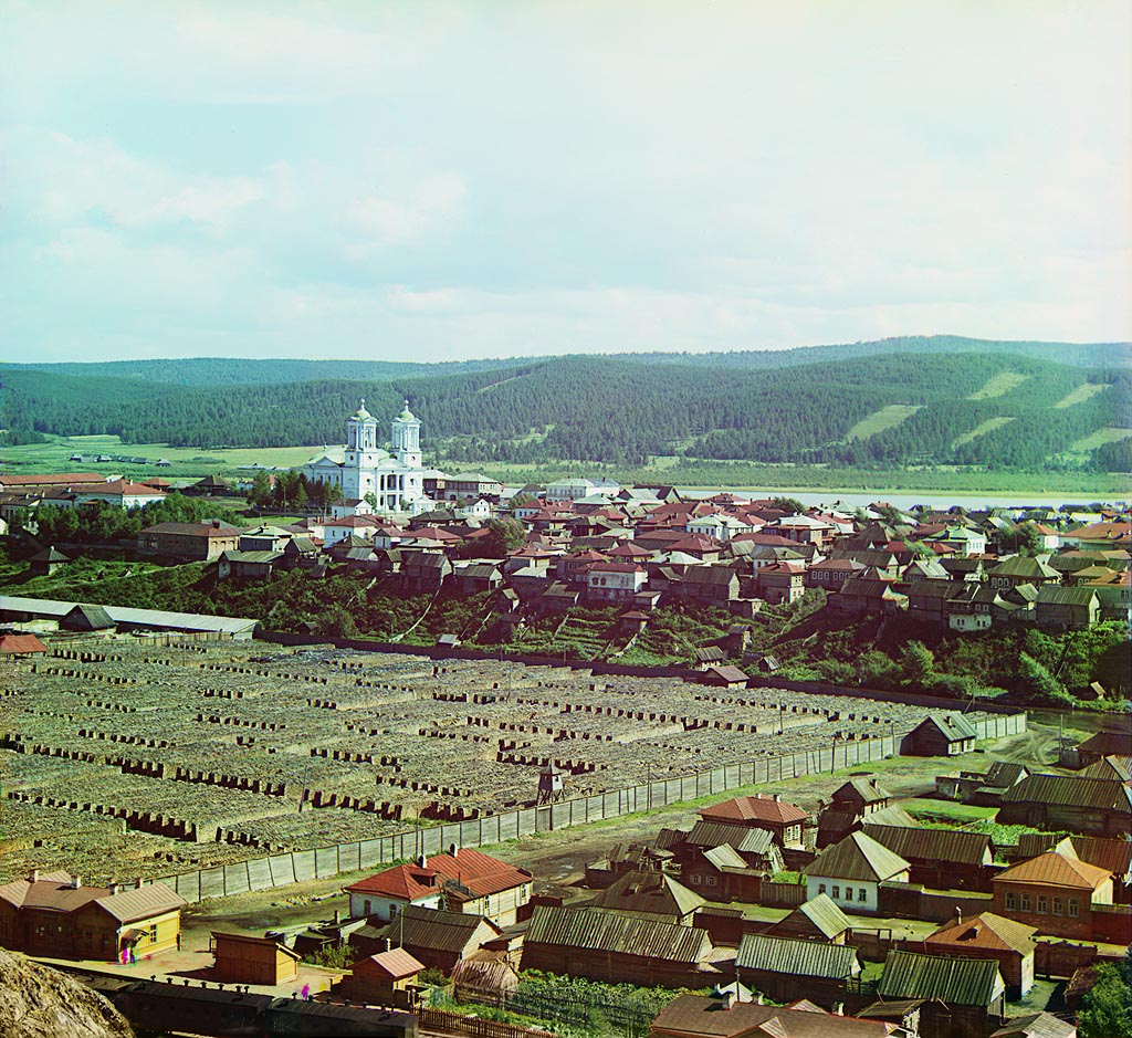 Храм Иоанна Предтечи нафото Прокудина-Горского. Лето 1910года (19.11.2014)