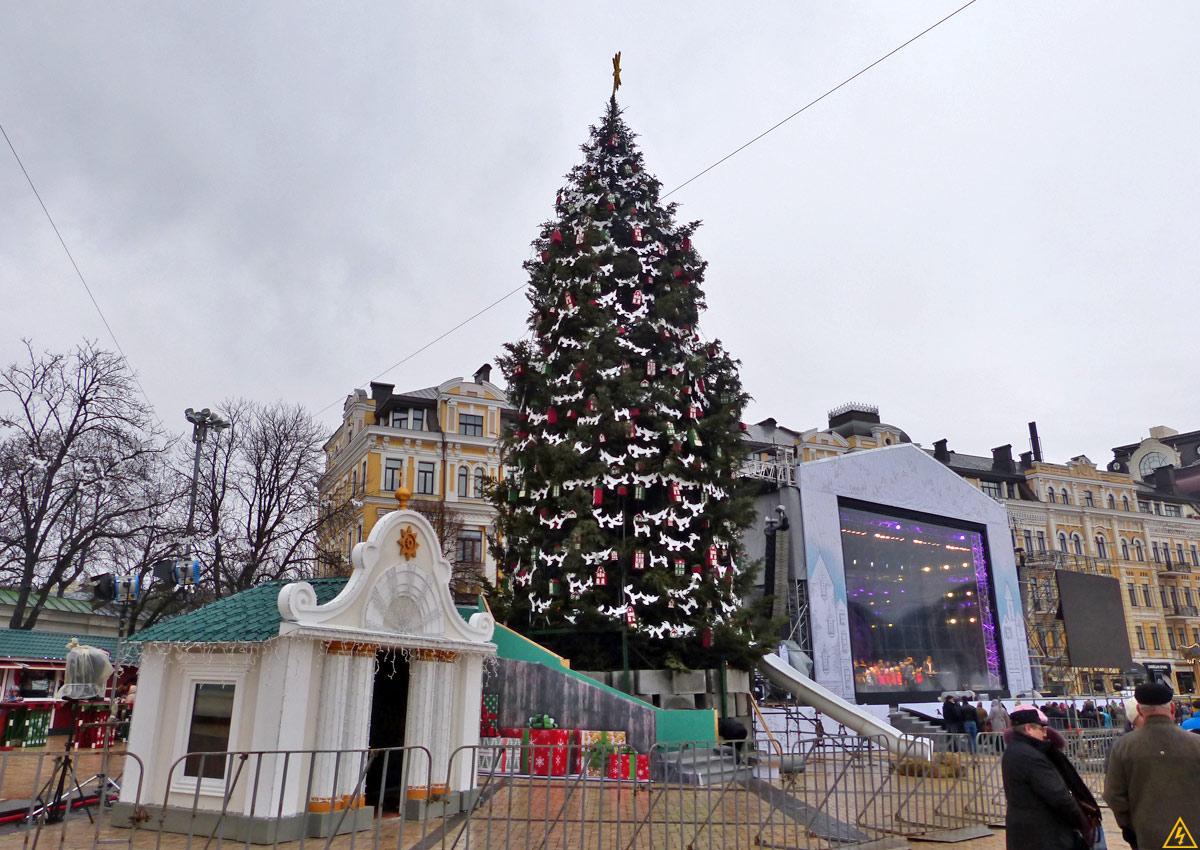 Новогодняя ярмарка на Софиевской площади