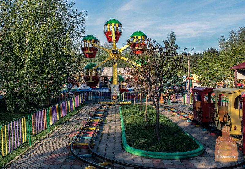 Аттракционы в Сормовском парке