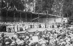 Певческий праздник. 1912