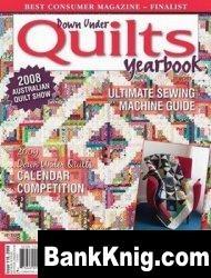 Журнал Down Under Quilts Yearbook, №116 2008