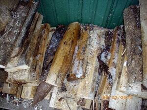 дрова во льду