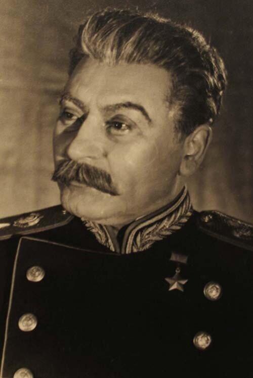 В роли Сталина