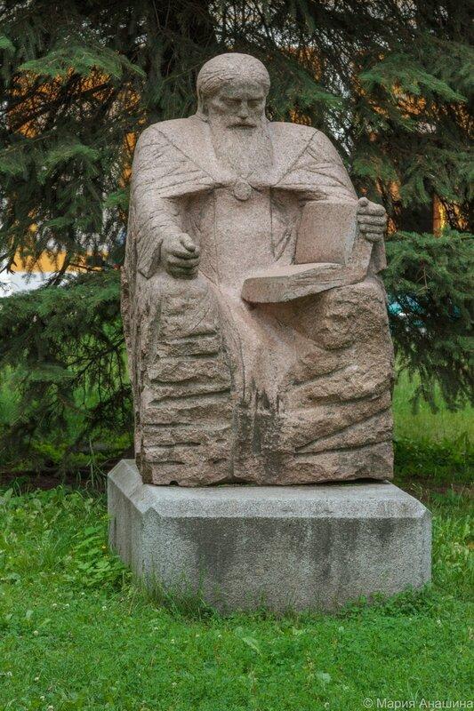 Скульптура «Симеон Тверской», Тверь