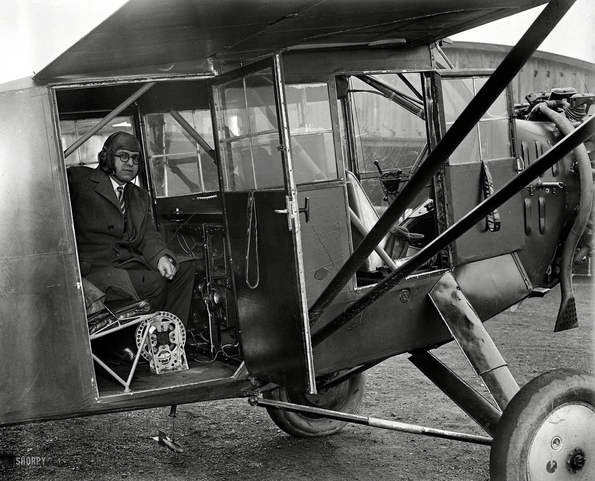 Самолеты и пилоты начала 20-го века на снимках американских фотографов (36)