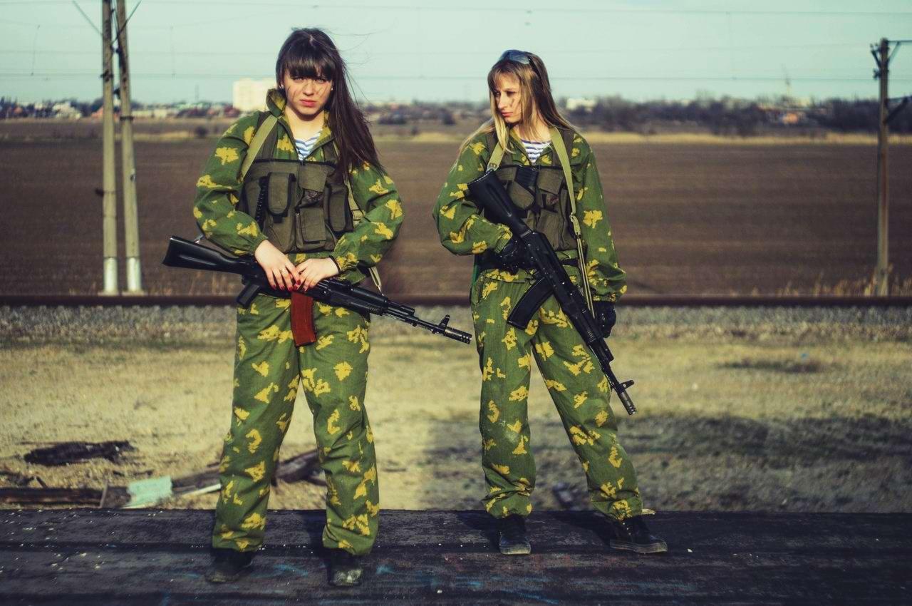 Боевые подруги: Фотосессия в стиле Military - лазертаг клуб - Отряд 61 - (Ростов-на-Дону) (1)
