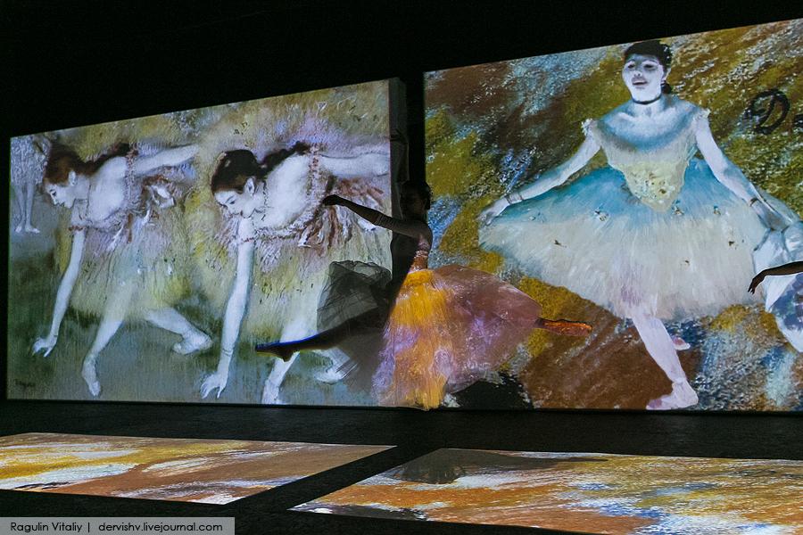 Ожившие полотна великих художников