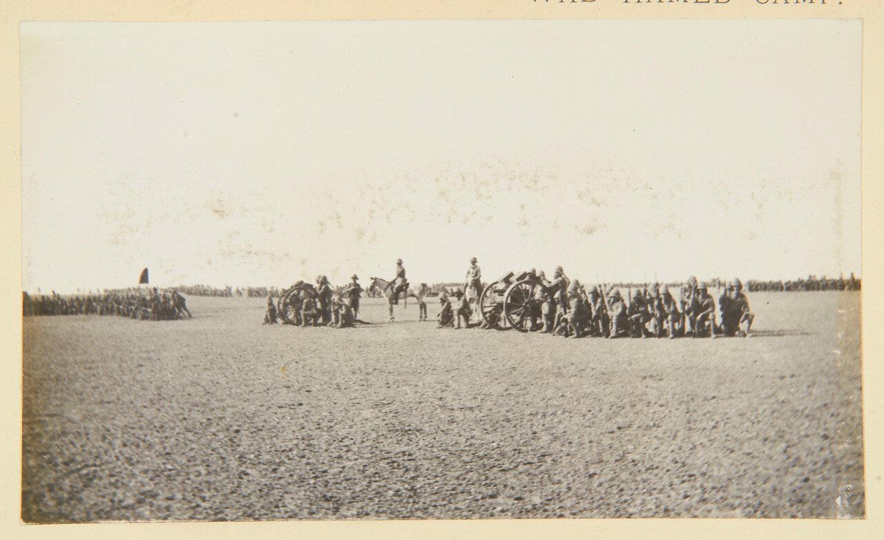 25 августа 1898. Лагерь в Вад Хамиде. Пулеметная батарея, Королевский ирландский полк