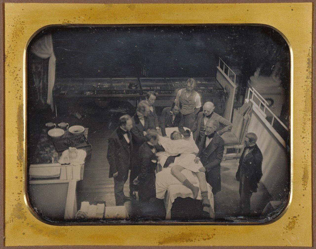 1847. Использование эфира для наркоза ,США, Массачусетс