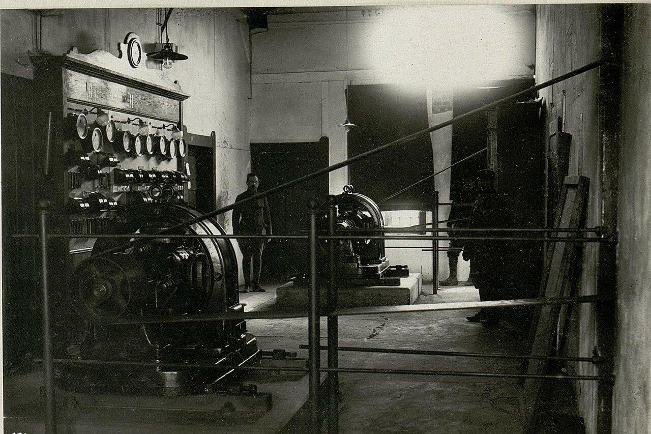 Электростанция. 17/IV.1918
