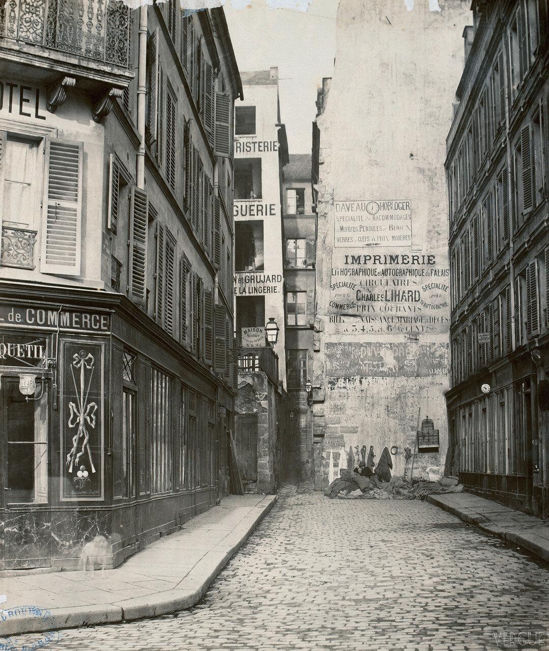 Рю Сент-Круа. 1865