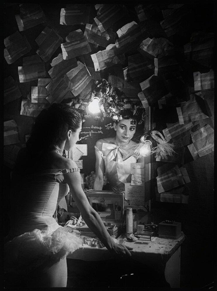 1949. Балерина Марго Фонтейн