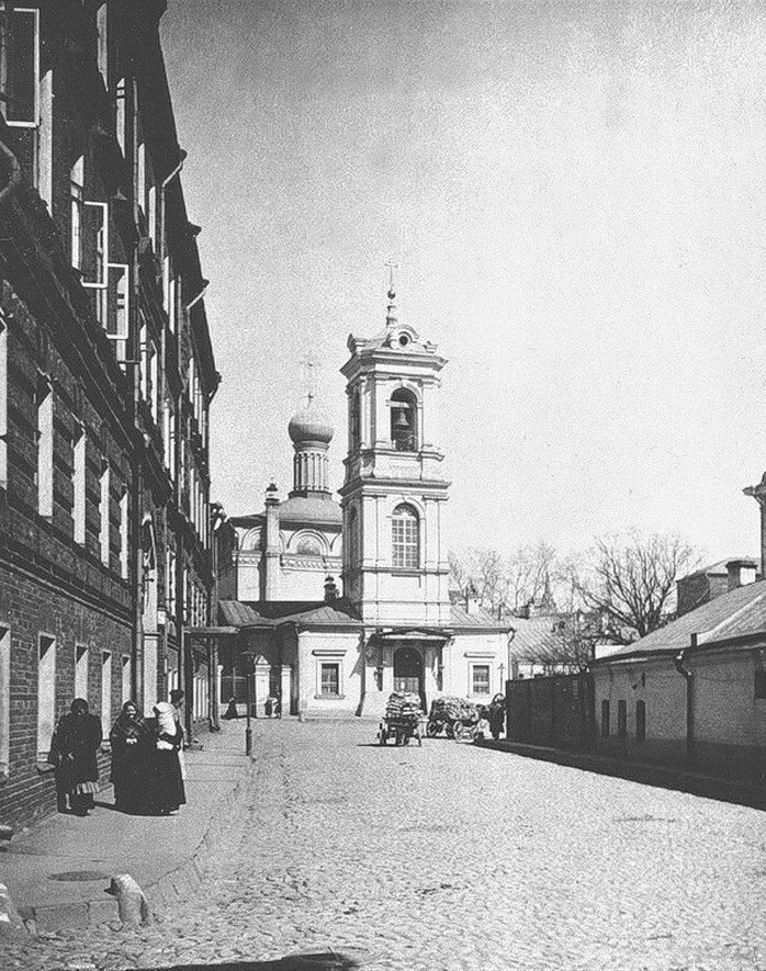 491. Церковь Вознесения (Воскресения Словущего) на Успенском вражке