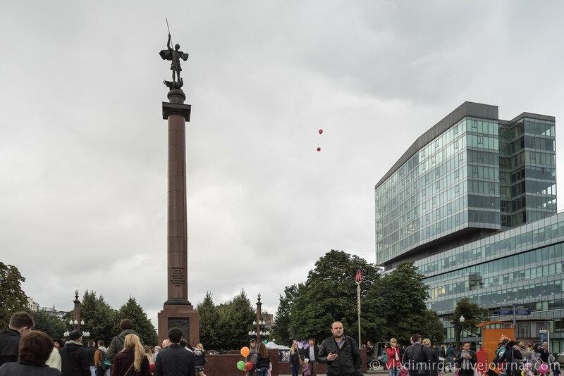День Города. Москва. 2015. Цветной бульвар.