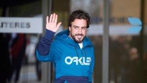 Фернандо Алонсо приступил к тренировкам после аварии