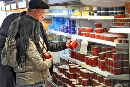 В России понизилась цена на красную икру