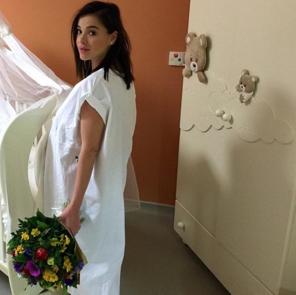 Елена Темникова родила дочку