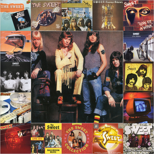 The Sweet - Discography  (1971-2009) FLAC